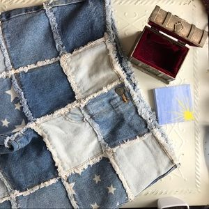 Cropped Patchwork Denim Dream Jeans *PRICE is FIRM